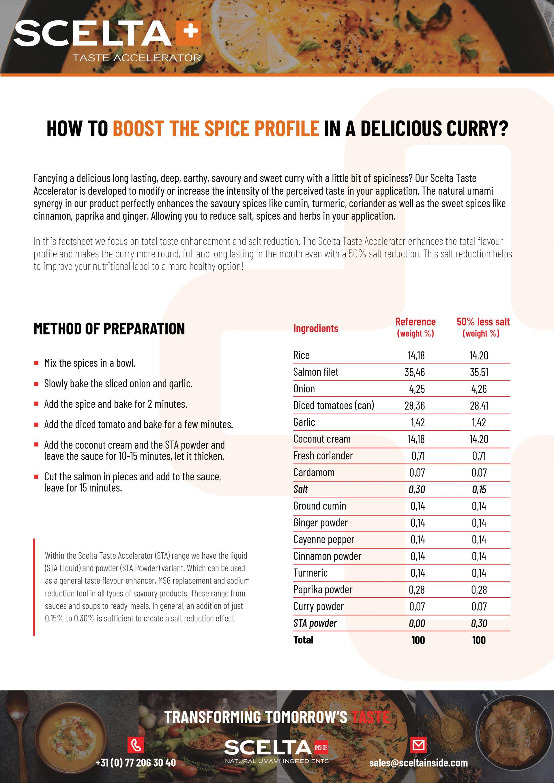 DF AL Scelta Inside Taste accelerator factsheet v02